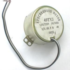 Motor De Microondas 49TYJ Bivolt 110-220 VAC 3 RPM 4W