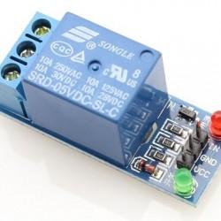 Módulo Eletrônico De 1 Rele 5V Para Arduino 10A Acionado Em GND