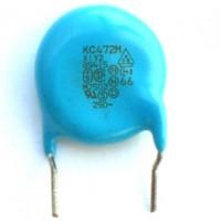 Capacitor Disco Cerâmico Y1 4,7nF X 250VAC Azul (4K7/4,7KpF/472)