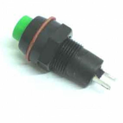 Chave Push Button DS-213 Sem Trava Verde
