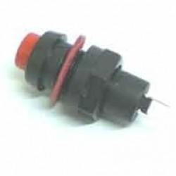 Chave Push Button DS-211 Com Trava Vermelha