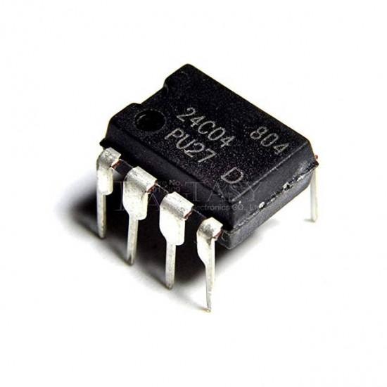 Circuito Integrado  24C04 (ATMLU93404B/ATMLU93804B/HT24LC04)