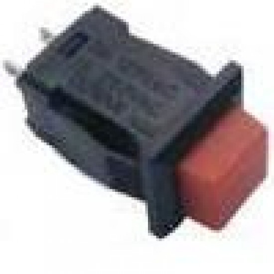 Chave Push Button DS-431 Vermelha 2T Sem Trava