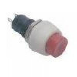 Chave Push Button DS-451 Sem Trava Vermelha 2T