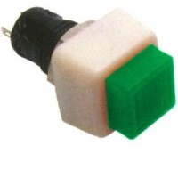 Chave Push Button DS-461 Sem Trava Verde 2T