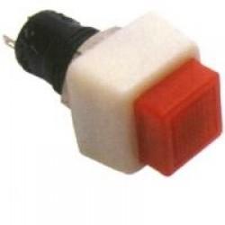 Chave Push Button DS-460 Com Trava Vermelha 2T