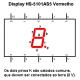 Display De Led Vermelho Catodo HS-5101AS