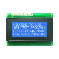 Display LCD 20x4 Back Azul Letra Branca Modelo 2004A