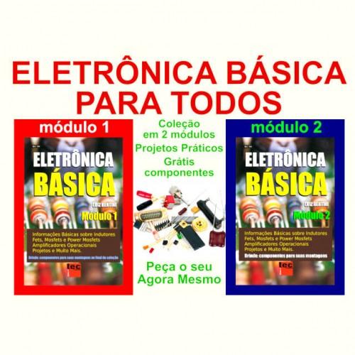 Livro Coleção Completa Eletrônica Básica