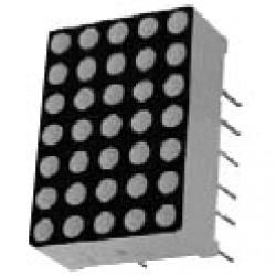 Matriz De Leds Vermelho Anodo 5x7 2 Polegadas D5X7SR