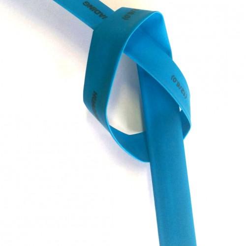 Espaguete Termo-Retratil Diametro 12mm Azul (Metro)