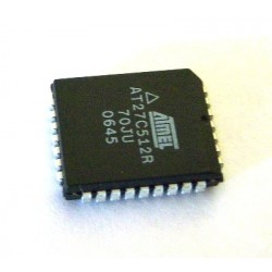 Circuito Integrado Eprom AT27C512R PLCC