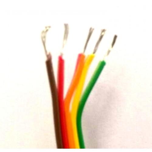Flat Cable 5 Vias Colorido 26 AWG (Metro)