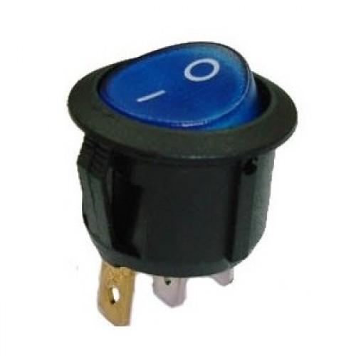 Chave Gangorra KCD1-106N Azul (L/D C/ Neon 3T) Sem Marcação