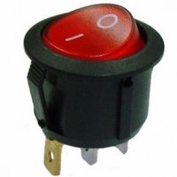 Chave Gangorra KCD1-106N Vermelha (L/D Com Neon)