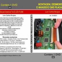 DVD Montagem, Desmontagem E Manuseio Das Placas De TV