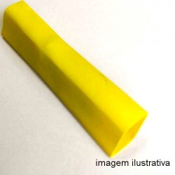 Espaguete Termo-Retrátil Diametro 1,5mm Amarelo(Metro)