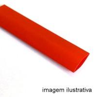 Espaguete Termo-Retratil Diametro 12mm Vermelho (Metro)