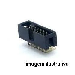 Conector Header 10 Pinos 90 Graus