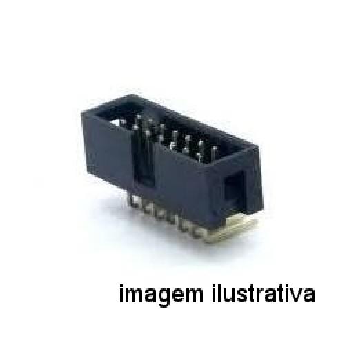 Conector Header 14 Pinos 90 Graus