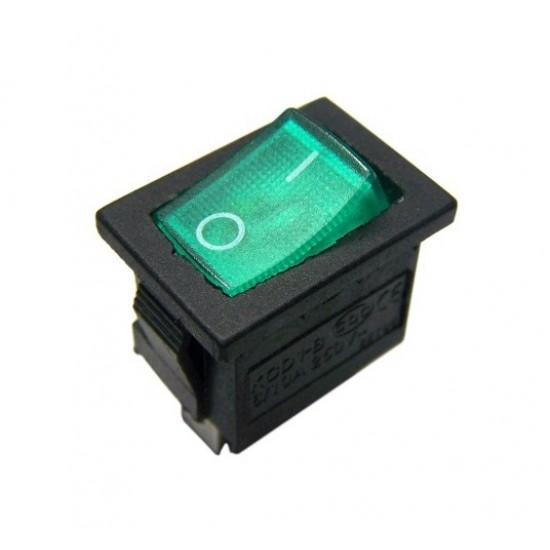 Chave Gangorra KCD1-102N Verde Com Neon