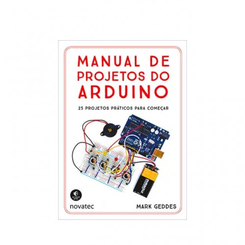 Livro Manual de Projetos do Arduino