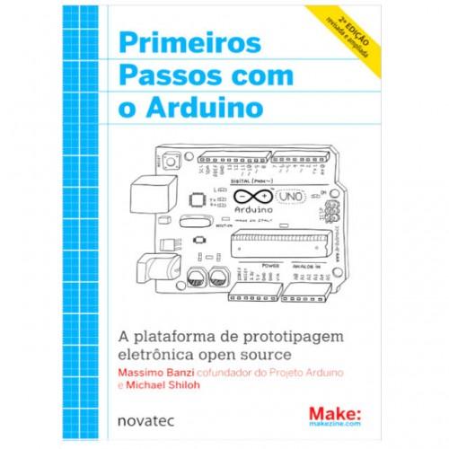 Livro Primeiros Passos com o Arduino - 2ª Edição