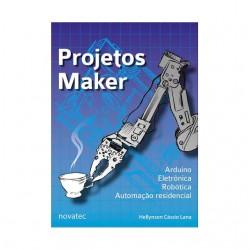 Livro  Projetos Maker