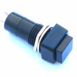 Chave PBS-12A Preta Com Trava (Tipo Push Button)