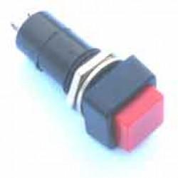 Chave PBS-12A Vermelha Com Trava (Tipo Push Button)