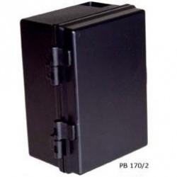 Caixa Patola PB-170/2 Preta Com Dobradicas 90x120x180