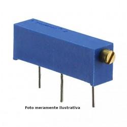 Trimpot Multivoltas 3006P 1K Ohms (1K/102) 15 Voltas