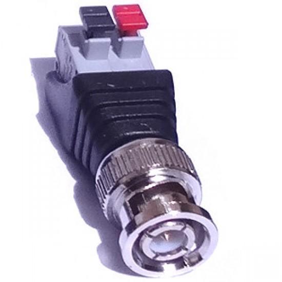 Adaptador Borne De Pressão (spring) Para BNC Macho - Modelo FL-05