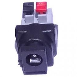 Adaptador Borne De Pressão (spring) Para J4 Fêmea 2,1mm - Modelo FL-03