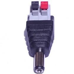Adaptador Borne De Pressão (spring) Para P4 2,1mm - Modelo FL-01