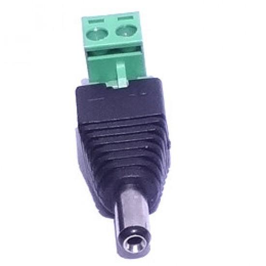 Adaptador Borne KRE Para P4 2,1mm 90 Graus - Modelo FL-02