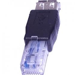 Adaptador RJ45 Para USB Fêmea - Modelo FL-35