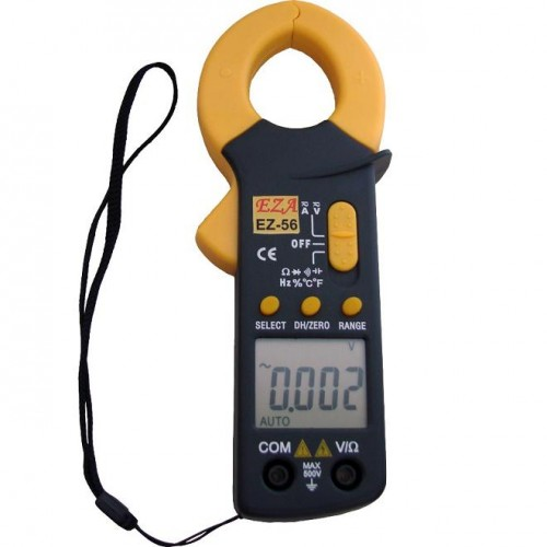 Alicate Amperímetro Digital De Bolso EZ-56