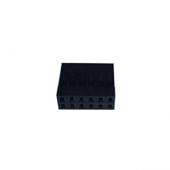 Alojamento Para Conector Modu Duplo 06x2