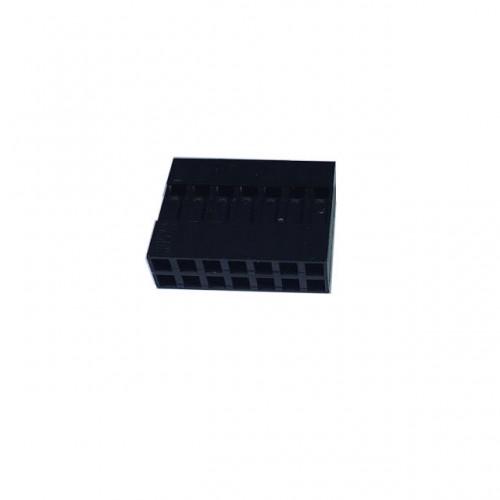 Alojamento Para Conector Modu Duplo 07x2