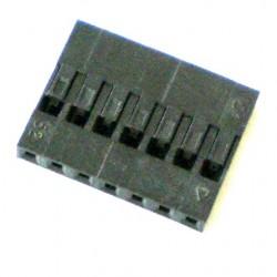 Alojamento Para Conector Modu Simples 7 Vias