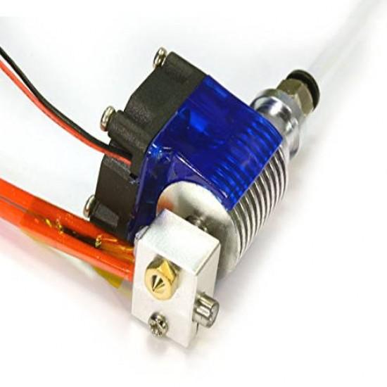 Cabeça De Extrusora E3D V6 Hotend Bico 0.3mm Filamento 1.75mm