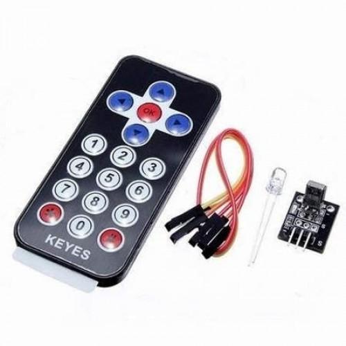 Controle Remoto Infravermelho Com Módulo Receptor VS1838Ba Para Arduino