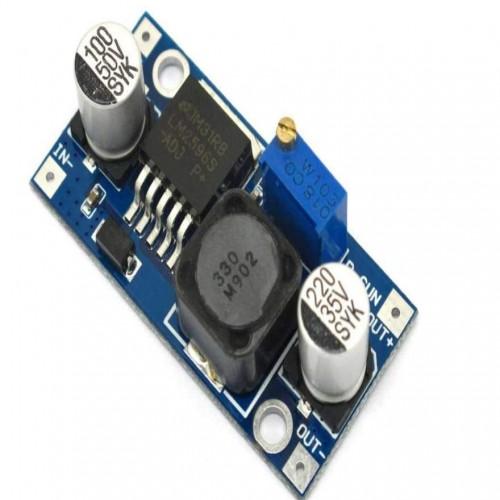 Fonte DC-DC Step Down Ajustável LM2596 In 4,5V A 35V Out 1,5V A 30V Arduino