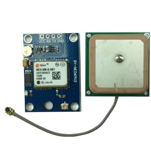 GPS shield I2C ou Interface serial com antena