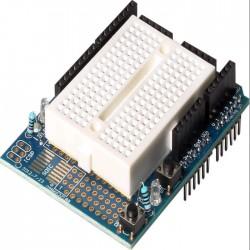 Kit Proto Shield Kit Com Protoboard 170 Furos Para Arduino