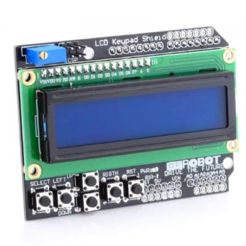 LCD 16x2 Keypad Shield Para Arduino (Display LCD Com Teclado)