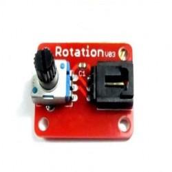 Módulo De Potenciômetro Analógico De 300 Graus De Rotação Para Arduino