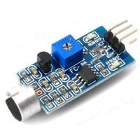 Módulo Eletrônico Sensor Analógico De Som Para Arduino