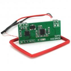 Modulo Leitor De Cartao Com Antena RFID 125KHz EM4100
